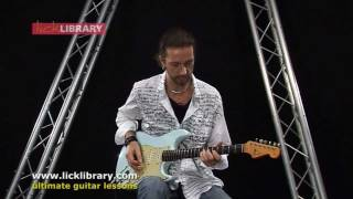 Moonchild - Rory Gallagher Guitar Lesson with Michael Casswell Licklibrary