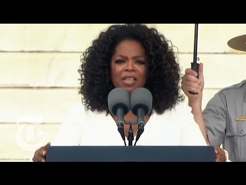 Oprah Winfrey at MLK Commemoration - 50th Anniversary of March on Washington | The New York Times