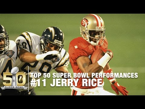 #11: Jerry Rice Super Bowl XXIX Highlights | Chargers vs. 49ers | Top 50 SB Performances