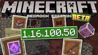 Minecraft Bedrock BETA 1.16.100.50✅ OUT NOW ! Boss Bars & UI [ Change Log ] MCPE / Xbox / Windows