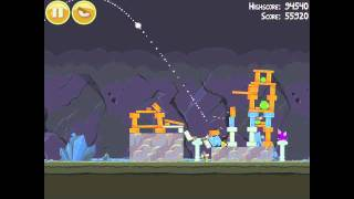 Video Angry Birds 17-5 Mine & Dine 3 Star Walkthrough download MP3, 3GP, MP4, WEBM, AVI, FLV Juli 2018