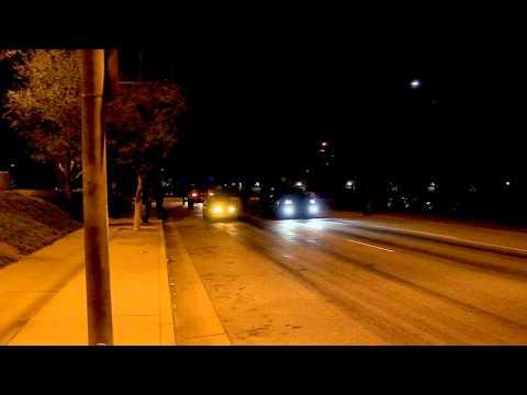 Asylum Racing Turbo Integra VS Manny's Nitrous Srt8 Jeep Street Racing