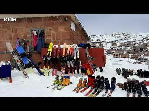 أنا الشاهد: مُنتجع التزحلق على الجليد في جبال أوكايمدن  - 12:57-2021 / 5 / 1