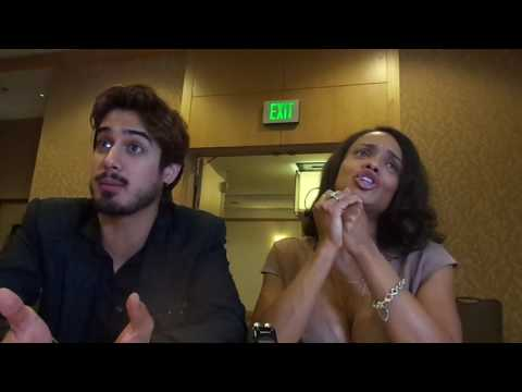 Ghost Wars- Avan Jogia & Kandyse McClure Interview- SDCC 2017