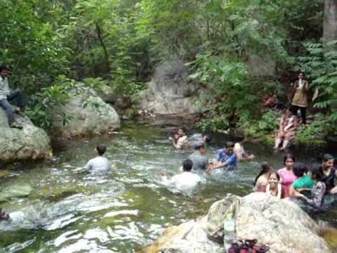 icabru mid conference trip to kambakkam thada waterfall
