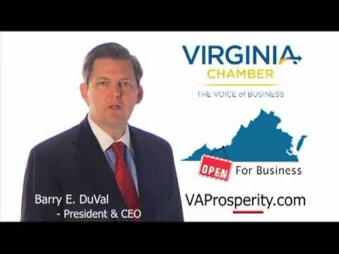 Virginia Chamber of Commerce Open for Business