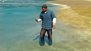 Your Phone Breaks If Your Feet Are Wet (GTA 5 Fact)