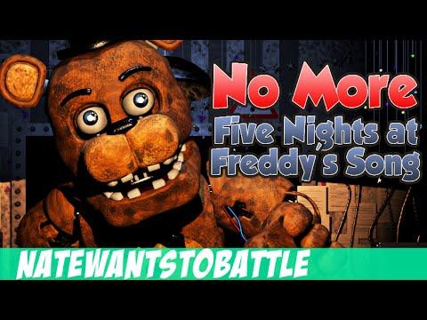 NateWantsToBattle: No More [FNaF LYRIC VIDEO] FNaF Song