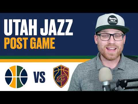 Utah Jazz vs Cleveland Cavaliers Post Game Reaction: Donovan Mitchell and Rudy Gobert are balling!