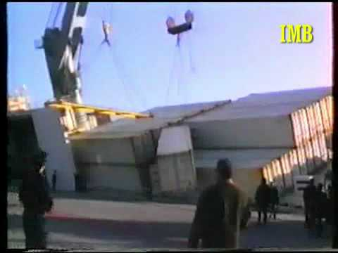 "Sinking of the vessel ""CALA PEVERO"" at Barcelona port on 1994 / Marine Surveyors Barcelona"