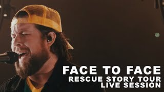"""Zach Williams - """"Face to Face"""" Rescue Story Tour Live Session"""