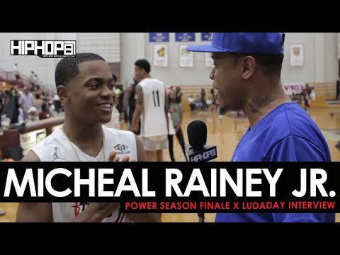 Michael Rainey Jr Talks Tariq St. Patrick, His Music Career, Power & the Season Finale with HHS1987