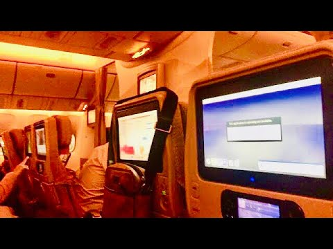 (HD) Emirates   Boeing 777-300ER   Dubai-Doha   EK847   Economy Class