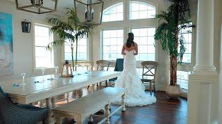 Heather and Trevor Heath's Boho Beach Wedding