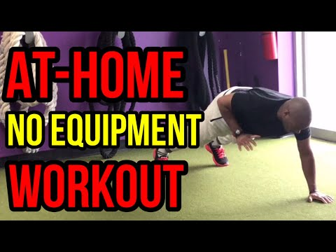 12 Min Total Body No Equipment At-Home Workout (Follow Along)