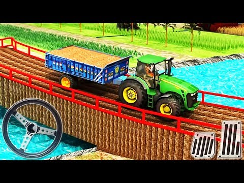 Real Tractor Farming Simulator - Tractor Driving 2019 - Android GamePlay