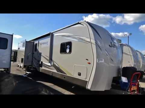 New 2017 Jayco Eagle 324BHTS For Sale near Columbus and Cambridge, OH, and Morgantown, WV