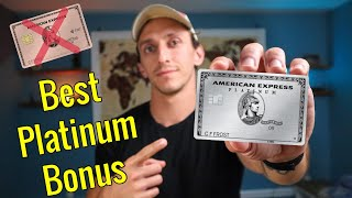 Picking THE BEST EVER Amex Platinum BONUS & Platinum Card Becomes Grocery Juggernaut