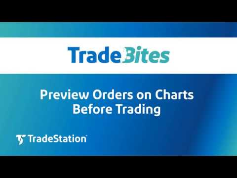 Preview Orders on Charts Before Trading