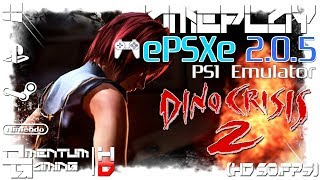 Dino Crisis 2 - ePSXe 2.0.5 | PS1 Emulator Gameplay | HD.1080p 60ᶠᵖˢ