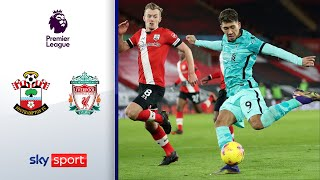 Reds patzen erneut! | FC Southampton - FC Liverpool 1:0 | Highlights - Premier League