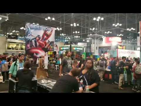 New York Comic Con  floor walkthru NYC '17