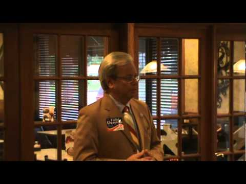 Part 1, Cayce Mafia Breakfast/ Candidate Eddie Drayton for Senate (District 35) 5/18/12 .mpg