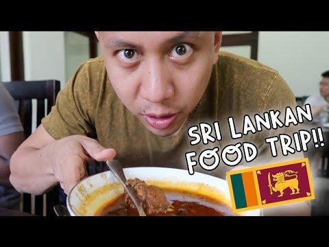 WARNING: DO NOT WATCH HUNGRY! SRI LANKAN FOOD TRIP!   Vlog #100