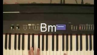 Incubus - Love Hurts -Piano Tutorial.wmv