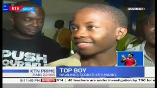 Top of his class: Rawlings Odhiambo speaks on his journey to victory