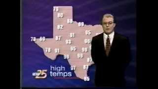 meteorologist john basham on kxxv tv news 25 1996