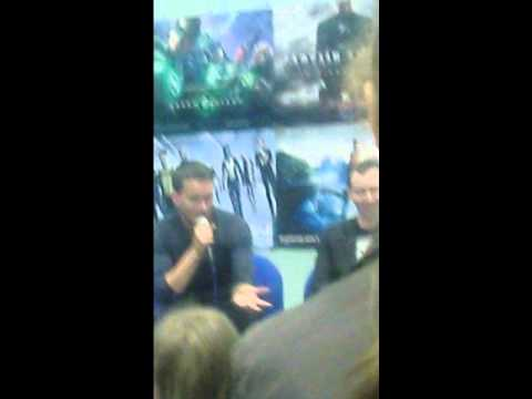 Wales Comic Con  James Moran and Gareth DavidLloyd