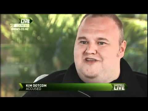 Kim Dotcom Exclusive Interview 'I will fight this and win'