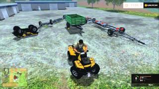 Farming Simulator 15 PC Mod Showcase: ATV