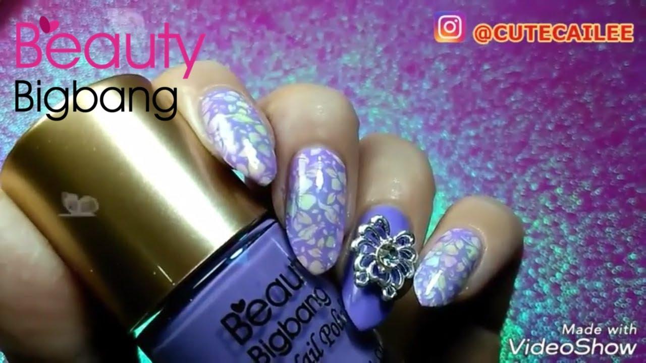 Nail Art Stamping Polish (product review/demo) Beauty Big Bang ...