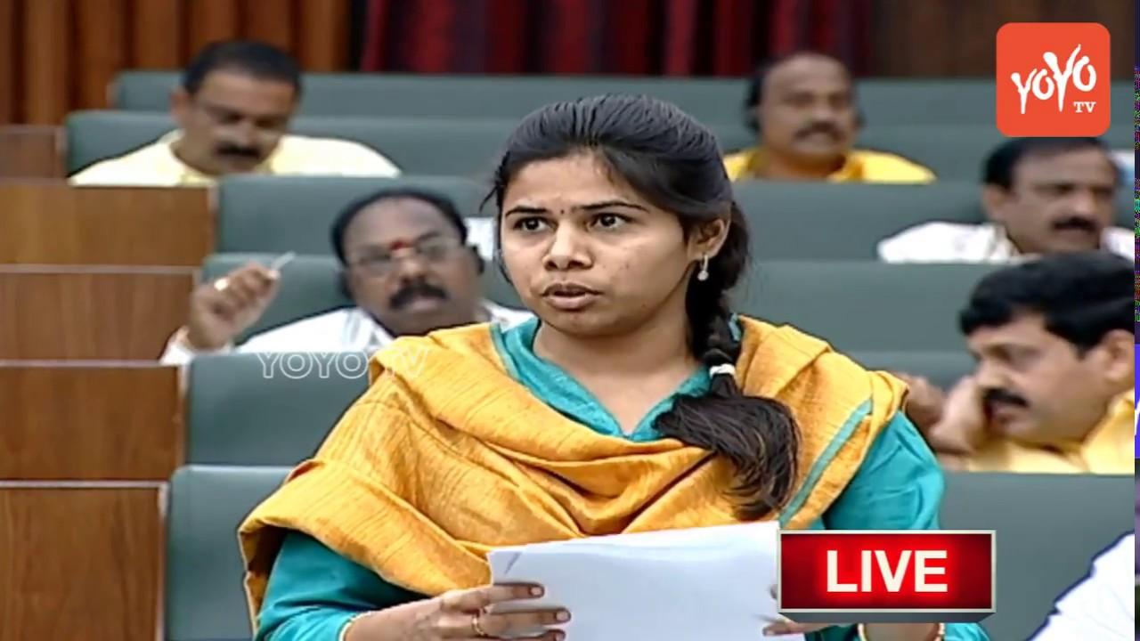 Minister Bhuma Akhila Priya Speech in AP Assembly   Andhra Pradesh