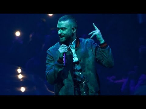 Justin Timberlake - Cry Me A River (The Man Of The Woods Tour) HD
