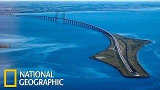 Суперсооружения: Супермосты - из Дании в Швецию (Эресуннский мост)