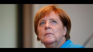 SCHWIERIGES PFLASTER: Kanzlerin Merkel besucht Dresden