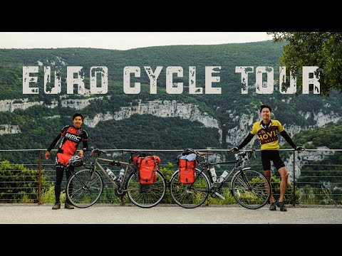 Euro Cycle Tour - Lyon to Barcelona