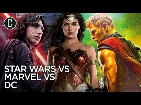 Marvel VS DC VS Star Wars: Which Franchise Won 2017?