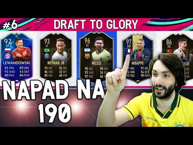 NIKAD LUĐE FINALE DRAFTA!! Draft To Glory #6 FIFA 19