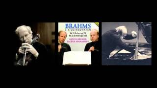 Kremer / Afanassiev, Brahms Sonata for Piano and Violin No.1 in G major, op.78