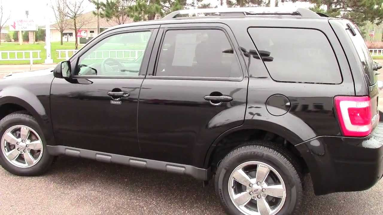 2012 Ford Escape 4WD Limited  YouTube