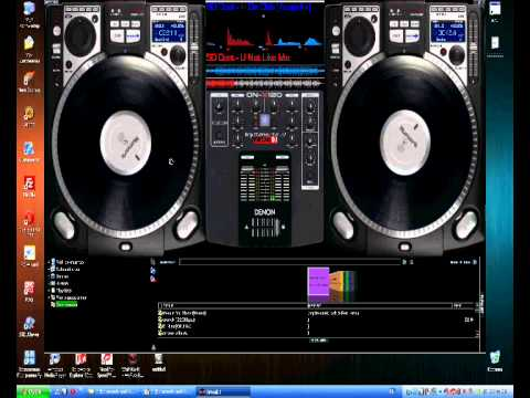 Dj Tema 50 cent (mouse scratch on virtual dj)