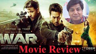 War movie Review by Saahil Chandel | Hritik Roshan | Tiger Shroff | Vaani Kapoor