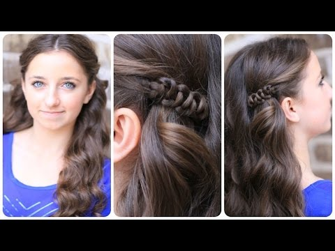 how to create a sidesup slideup hairstyle  easy