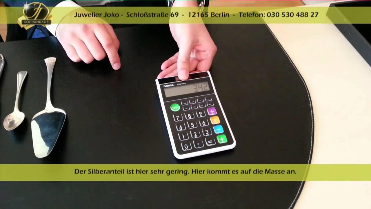 Juwelier Joko Berlin - Ankauf von Silberbesteck & versilbertes Besteck Silberankauf