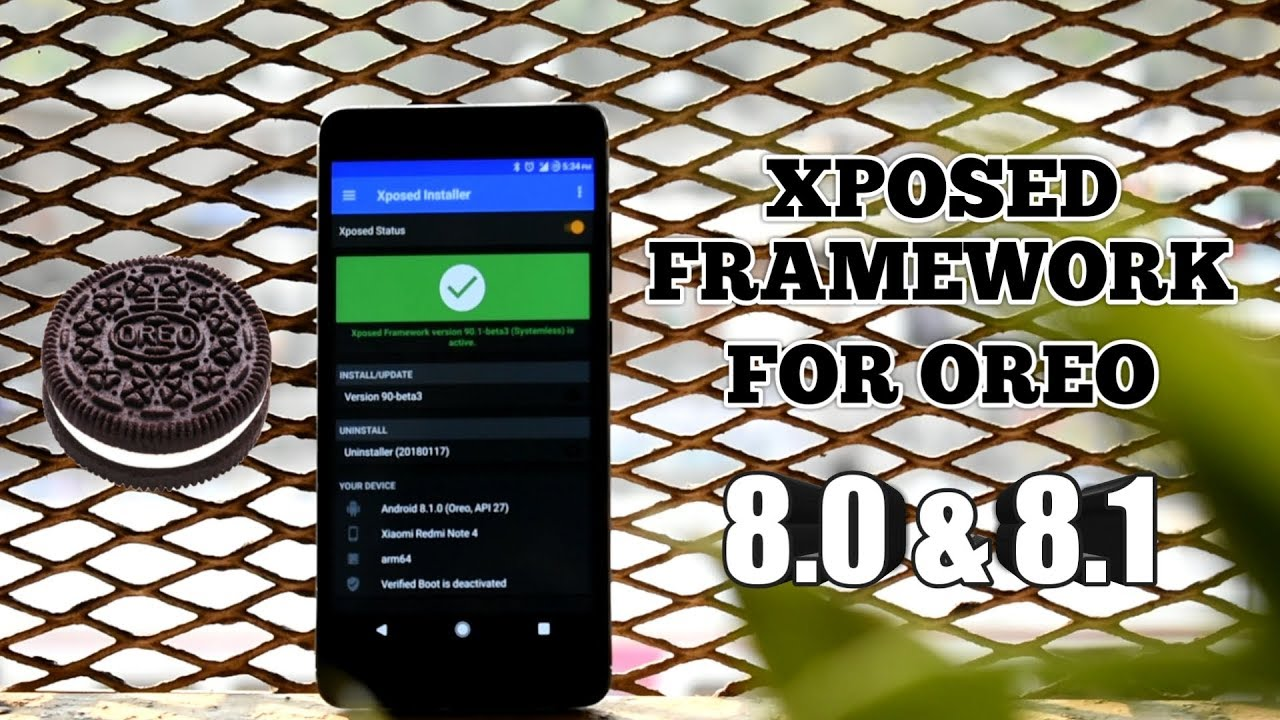Xposed Framework For Oreo 8 0 and 8 1
