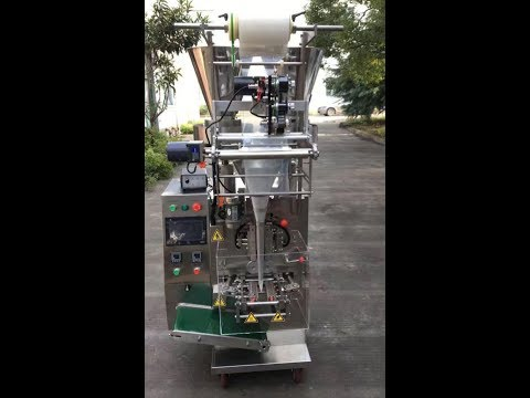 vertical sachet form fill seal packaging machine used for shampoo Shower Gel vffs equipment